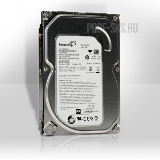 Жесткий диск Seagate 500Gb Barracuda ST500DM002